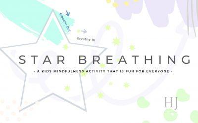 Kids Mindfulness Activity – Star Breathing